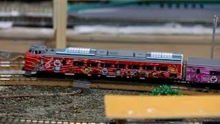 Nゲージ鉄道模型 781系・ドラえもん海底列車 N gauge