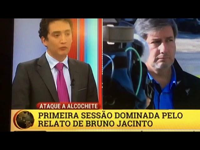 Alexandre Guerreiro TVI24 - 1ª Dia do Julgamento Alcochete, sobre Bruno Jacinto