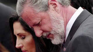 Jerry Falwell Jr.'s business partner alleges affair with the evangelical leader and his wife