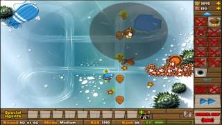 BTD5 Bloons Tower Defense 5 Daily challenge setemper 2nd: A Cold Bunch NLL