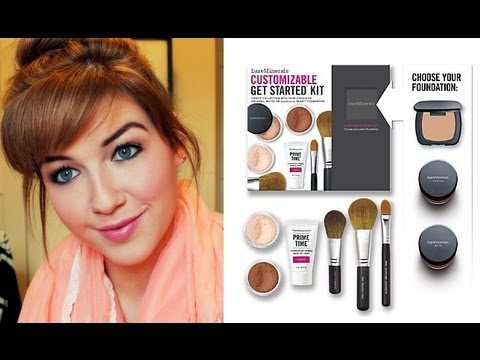 Bare minerals makeover