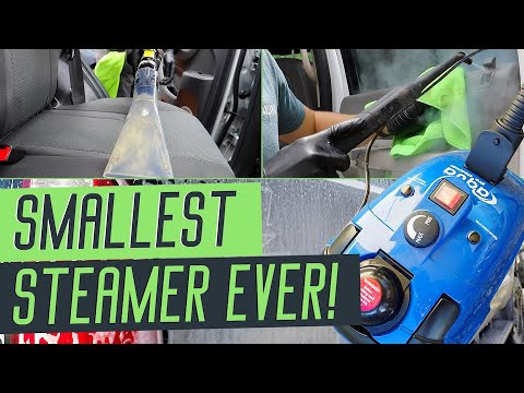 All NEW Mobile Auto Detailing Steamer... Best Steam Cleaner For Detailers!
