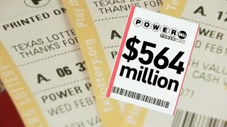 Slicing Up the $564 Million Powerball Lottery Ticket