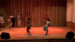 Botswana dance: African rhythm