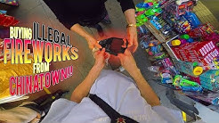 BUYING ILLEGAL FIREWORKS IN CHINATOWN!!