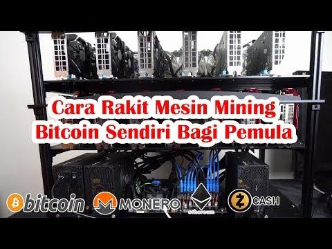Cara Merakit Mining Rig Untuk Mining  Bitcoin / Altcoin  Bagi Pemula