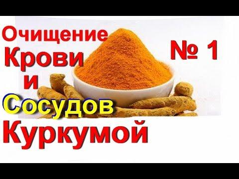 Куркума. Очистка кровеносных сосудов куркумой - это сильнейший и лучший рецепт для очищения № 1