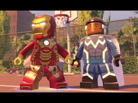 LEGO Marvel's Avengers - Harlem Area 100% Guide (All Collectibles)