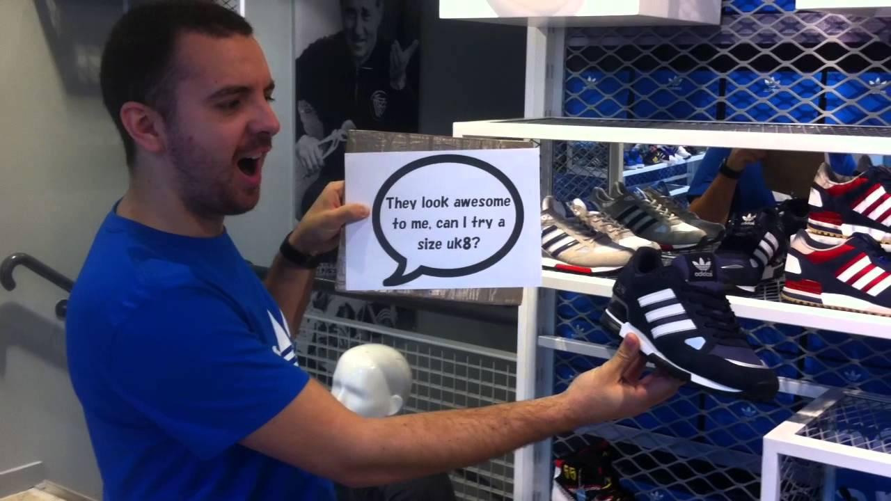 buscar autorización sitio web profesional nueva productos calientes Customer Service: A Silent Movie From Adidas Originals Liverpool ...