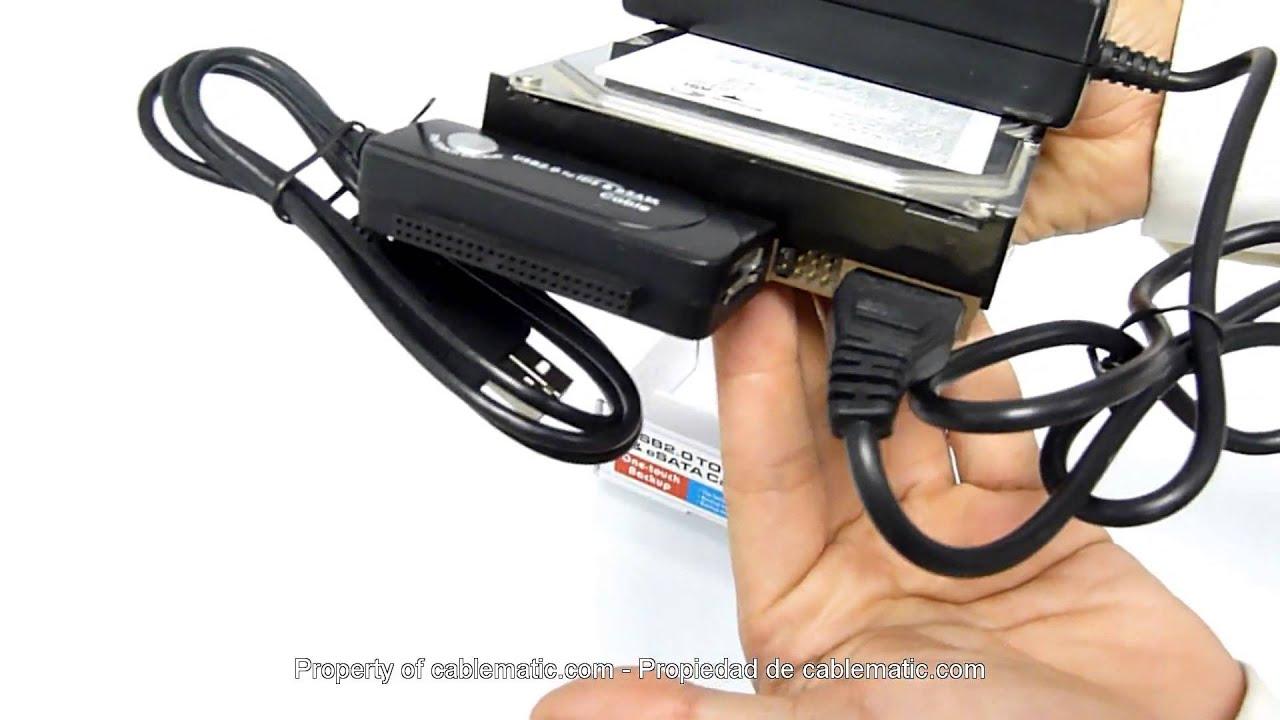 VCOM USB 2.0 - SATA/IDE VUS7056