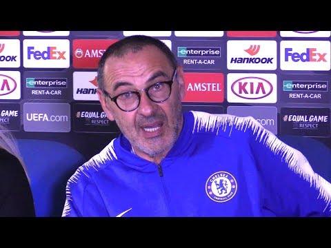 Chelsea 3-1 BATE Borisov - Maurizio Sarri Full Post Match Press Conference - Europa League