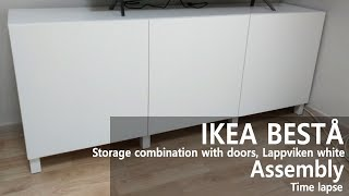 How to Assemble - IKEA 이케아 BES…