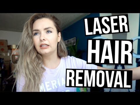 First Time Getting Laser Hair Removal!