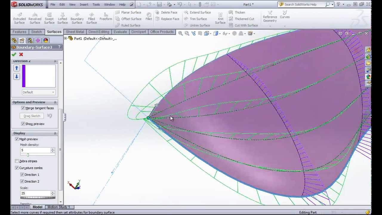 SolidWorks Surfacing: Avoiding Degenerate Surfaces - SolidWorks Training by  SolidWize