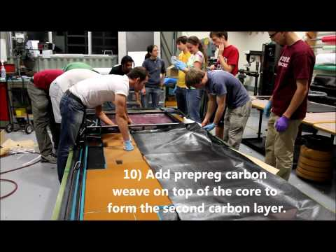 Stanford Solar Car: The Making of a Monocoque Solar Car