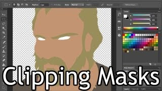Preparing Clipping Masks in Photoshop