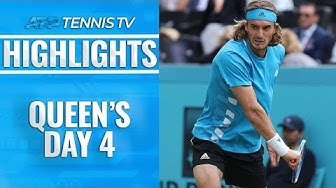 Murray's Winning Return; Tsitsipas Into Quarter-Finals | Queen's 2019 Highlights Day 4