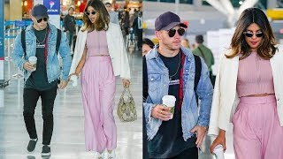 Omg ! Priyanka Chopra and bf Nick Jonas seen leaving together for their engagement in LA !