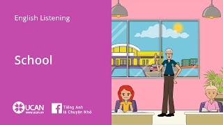 Learn English Via Listening | Beginner - Lesson 26. School