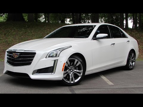 2015 Cadillac CTS V-Sport Start Up, Road Test, and In Depth Review