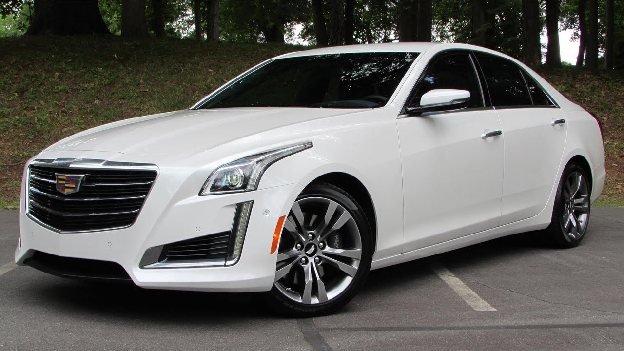 2015 Cadillac CTS V-Sport Start Up, Road Test, and In Depth Review .