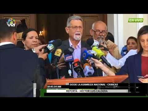 Venezuela - Parlamentarios se solidarizaron con detención de Juan Requesens  - VPItv