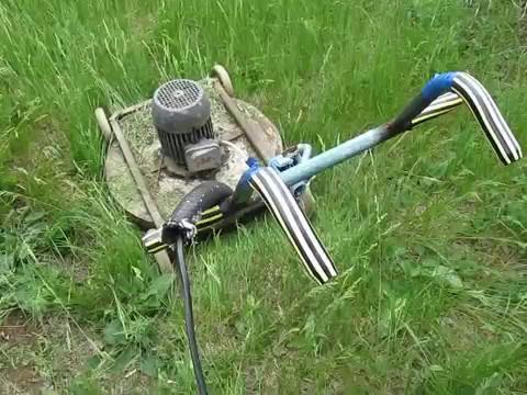 №30 газонокосилка электрическая самодельная своими руками homemade lawn mower
