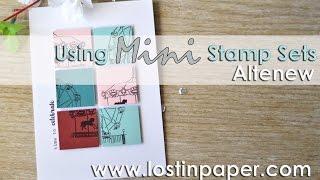 Altenew Celebration - Using Mini Stamp Sets!