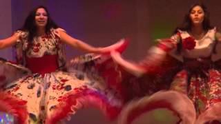 Зажигательный цыганский танец