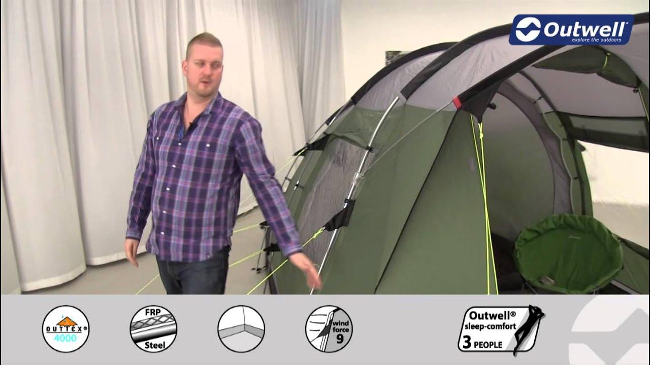 Outwell Birdland 4E Tent | Innovative Family C&ing | 2015  sc 1 st  YouTube & Outwell Birdland 4E Tent | Innovative Family Camping | 2015 - YouTube