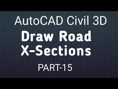 15 How to Create Cross Sections and Takeoff Quantity in AutoCAD Civil 3D