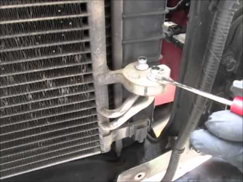 2007 Kia Sportage A C Compressor Change Youtube