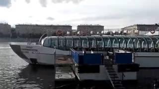 Смотреть видео Пресненская набережная. Парк Культуры, Москва онлайн