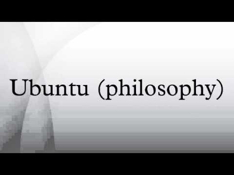 Ubuntu (philosophy)