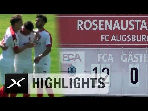 12:0! Rekord-Show beim FC Augsburg II   FCA-Youngster übertrumpft Robert Lewandowski   Regionalliga