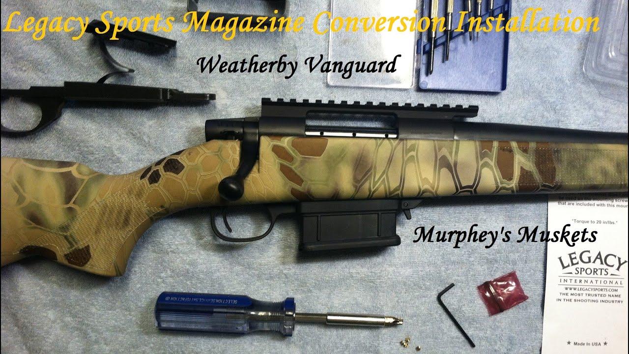 Weatherby vanguard stock options