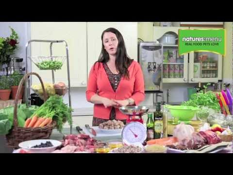 What is in Natures Menu Raw Food?