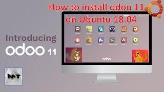 How to install Odoo 11 on Ubuntu 18.04