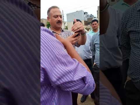 Amit Atwal Or Manoj Counselor Arun Sood NeLogo Ko Diya 30 August Tak Diya Sector 38 West Ke