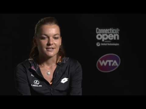 Agnieszka Radwanska Reflects On Winning 2016 Connecticut Open