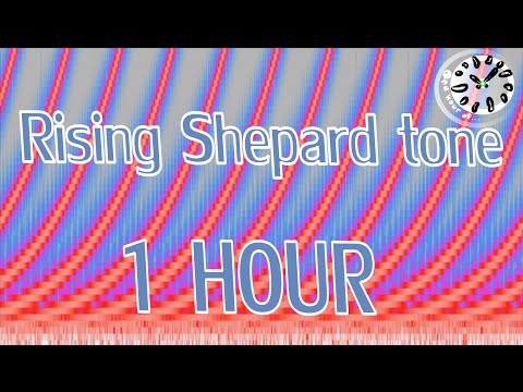 Rising Shepard tone hour | One Hour of...