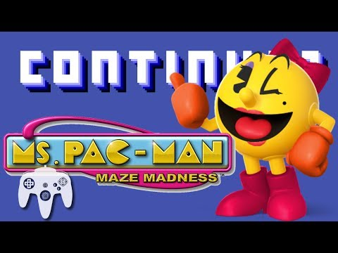 Ms. Pacman's Maze Madness (N64)  - Continue?