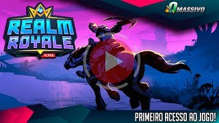 REALM ROYALE - Um Battle Royale no Mundo de Paladins