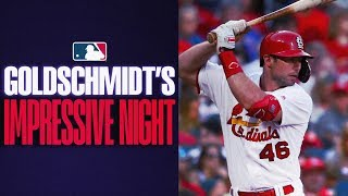 Cardinals' Paul Goldschmidt torments Brewers with 2-HR, 7-RBI night