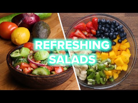10 Power Salads For A Healthy Lifestyle