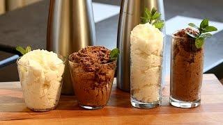 recette mousse chocolat blanc ou noir au siphon