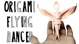 Origami Flying Dancer (Riccardo Foschi)
