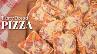 Homemade Pizza using Tasty Bread | Ep. 1 | Bryan's Kitchenette