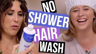 4 Ways to Wash Your Hair Without Showering (Beauty Break)