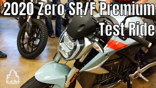 2020 Zero SR/F Premium - Test Ride